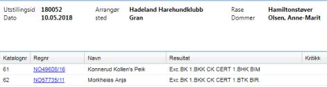 Hadeland 10.mai